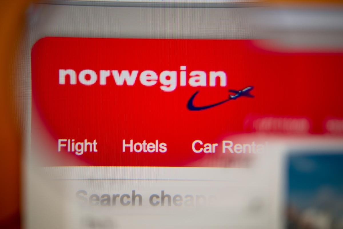 norwegian air website