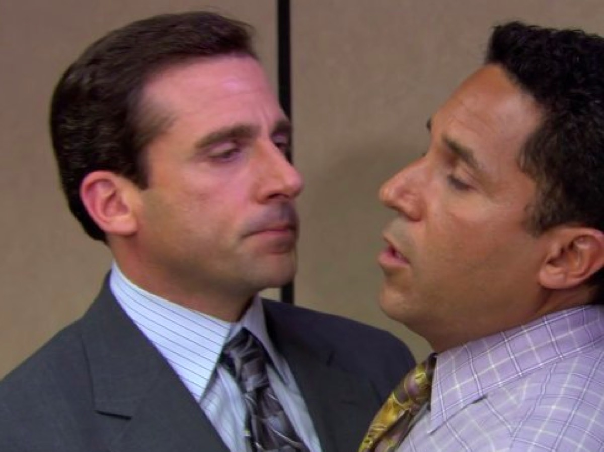 Michael and Oscar The Office