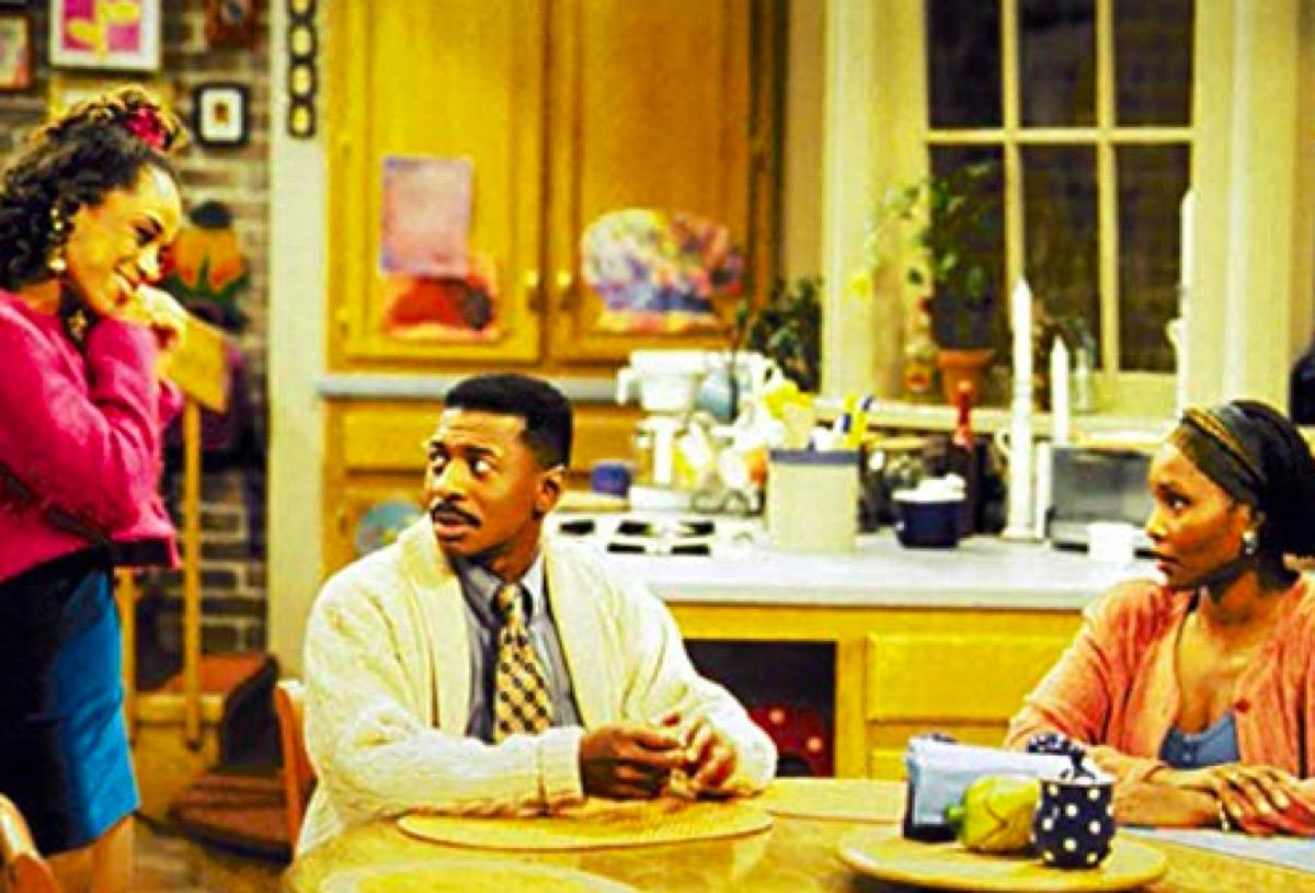 Reagan Gomez-Preston, Robert Townsend, and Suzzanne Douglas in The Parent 'Hood