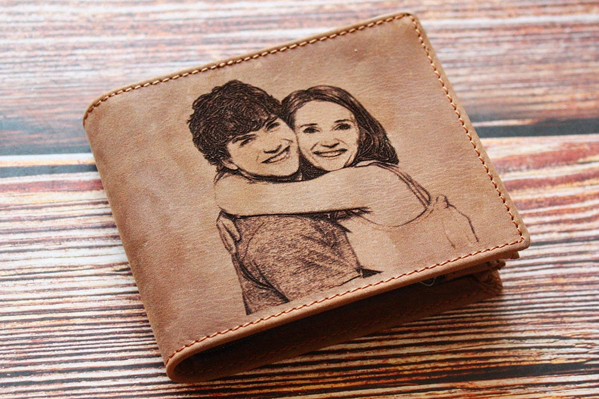 Personalized wallet with photograph on it