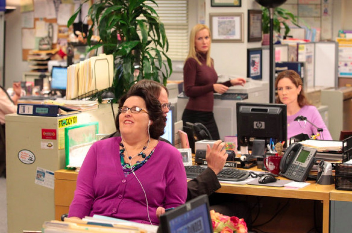 Phyllis in The Office