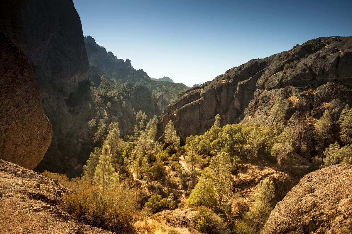Pinnacles National Park in California USA