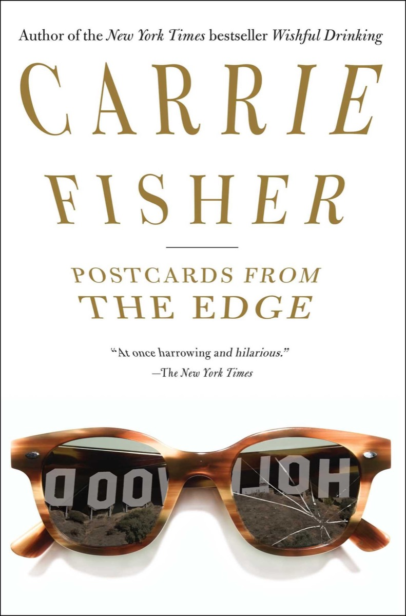 carrie fisher postcards from the edge cover
