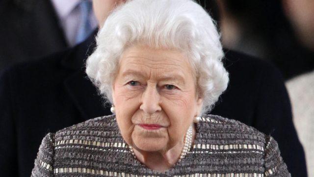 Queen Elizabeth II in Feb 2019