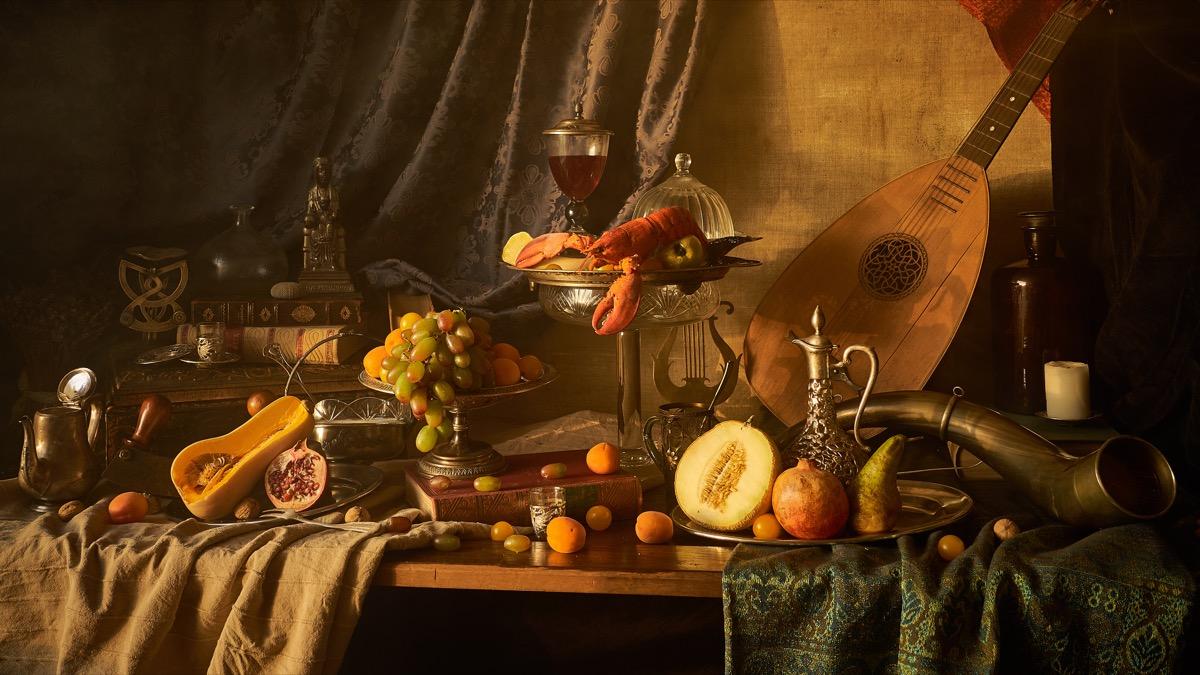 renaissance painting depicting that era