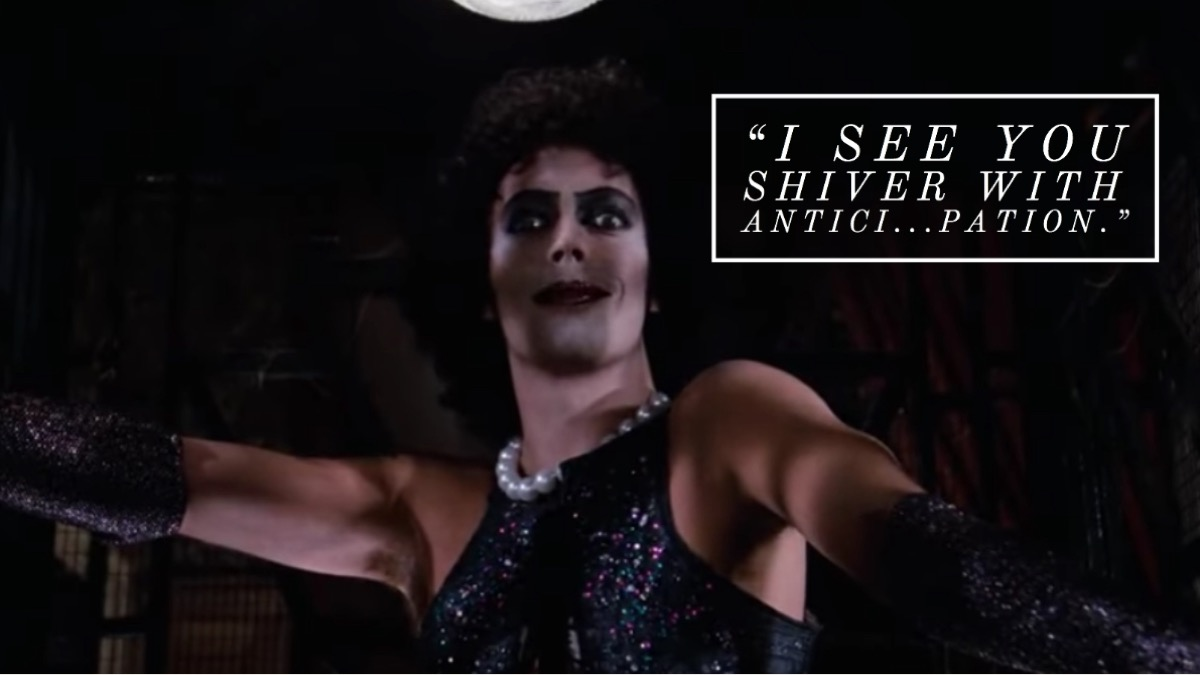 Rocky Horror Picture Show quote