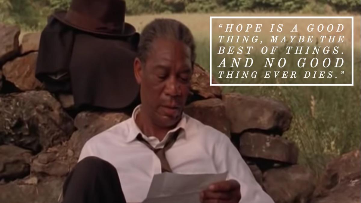 Shawshank Redemption movie quote