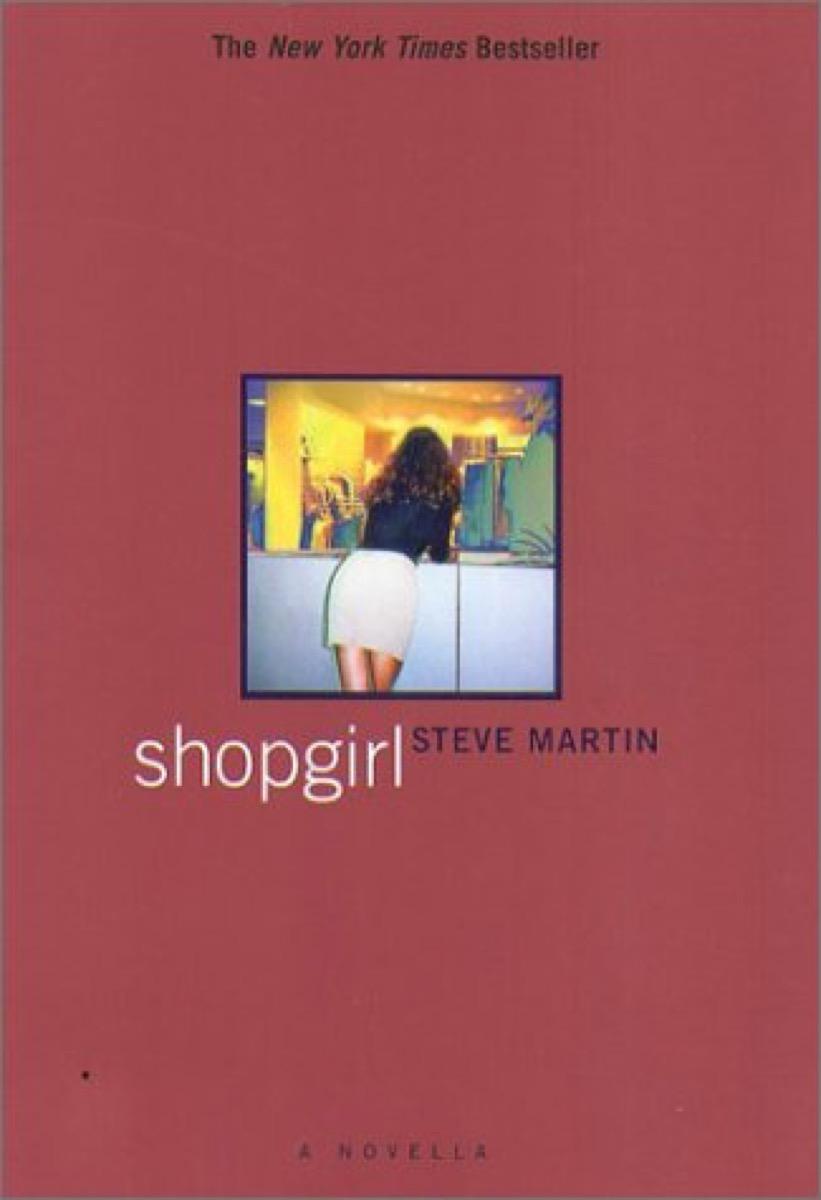 shopgirl steve martin book cover