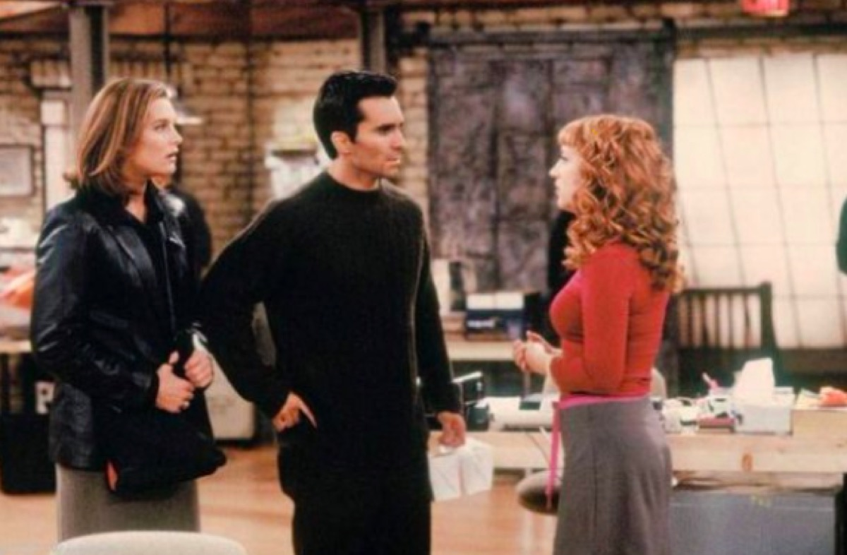 Brooke Shields, Nestor Carbonell, and Kathy Griffin in Suddenly Susan