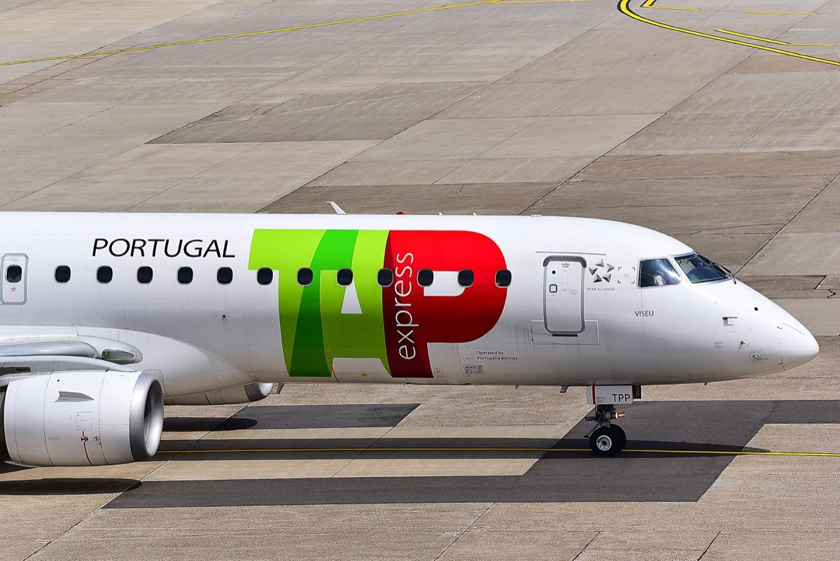 tap air portugal jet