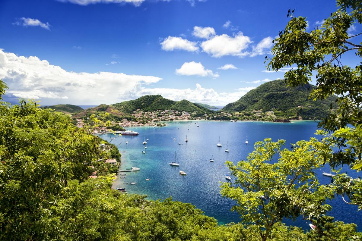 Terre-de-Haute, Les Saintes islands in the Guadeloupe archipelago