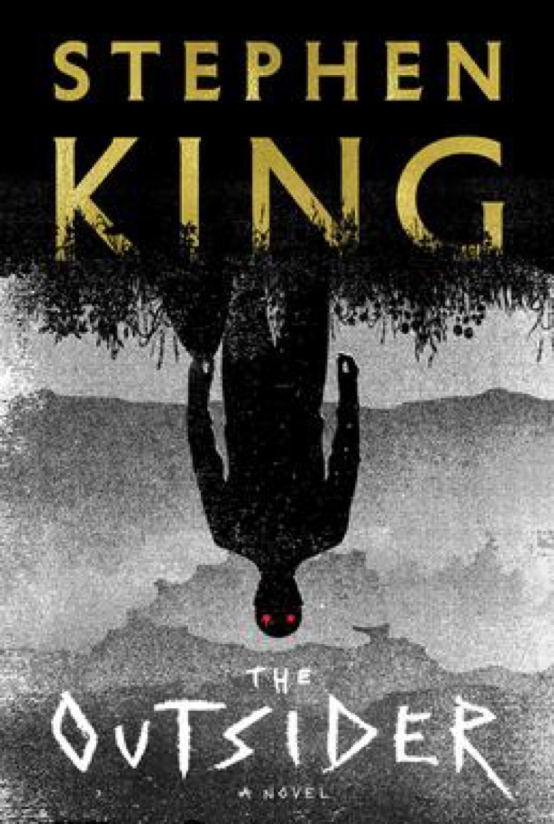 stephen king's the outsider book cover