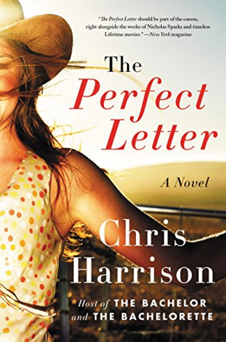 the perfect letter a book by chris harrison
