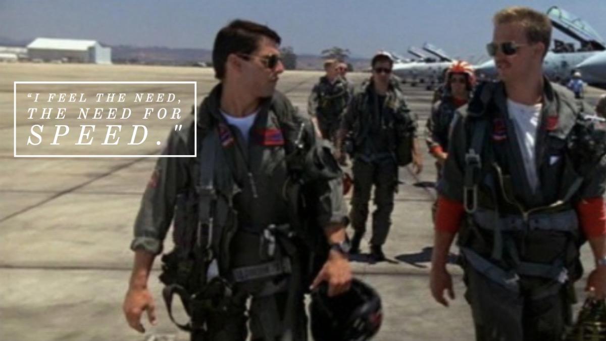 Top Gun movie quote