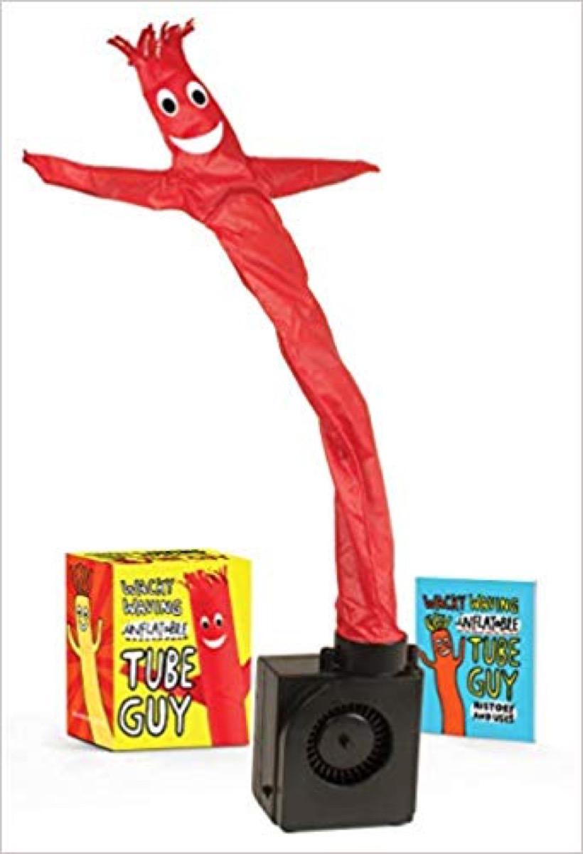 waving tube guy gag gift