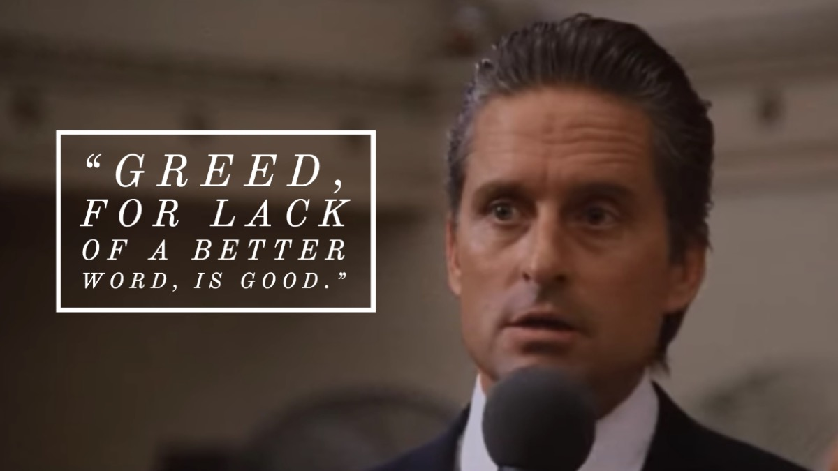 Wall Street movie quote