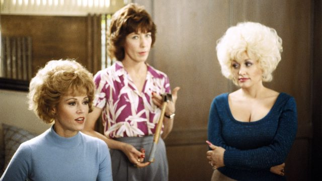 jane fonda lily tomlin and dolly parton in 9 to 5