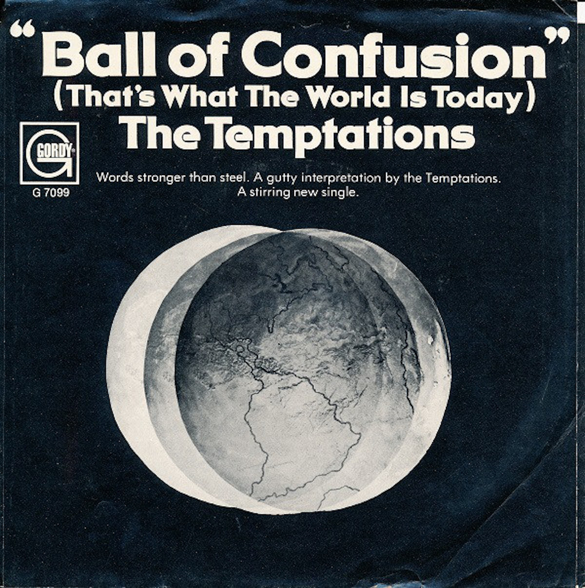 ball of confusion album art, by the temptations
