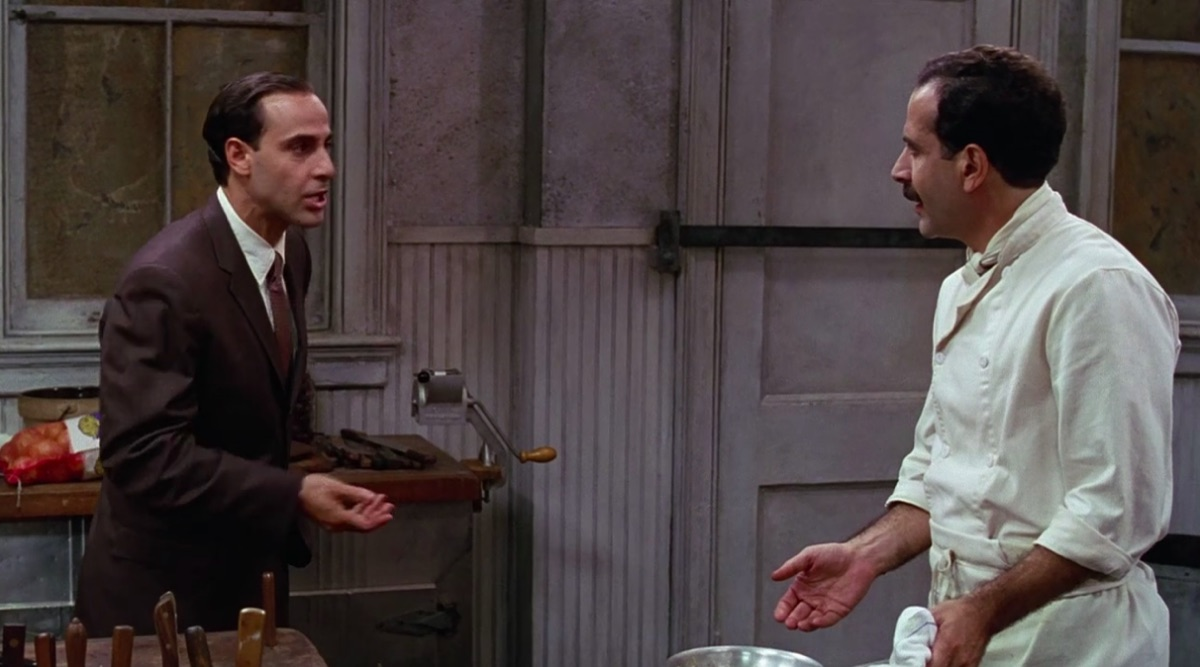 Stanley Tucci and Tony Shaloub in Big Night