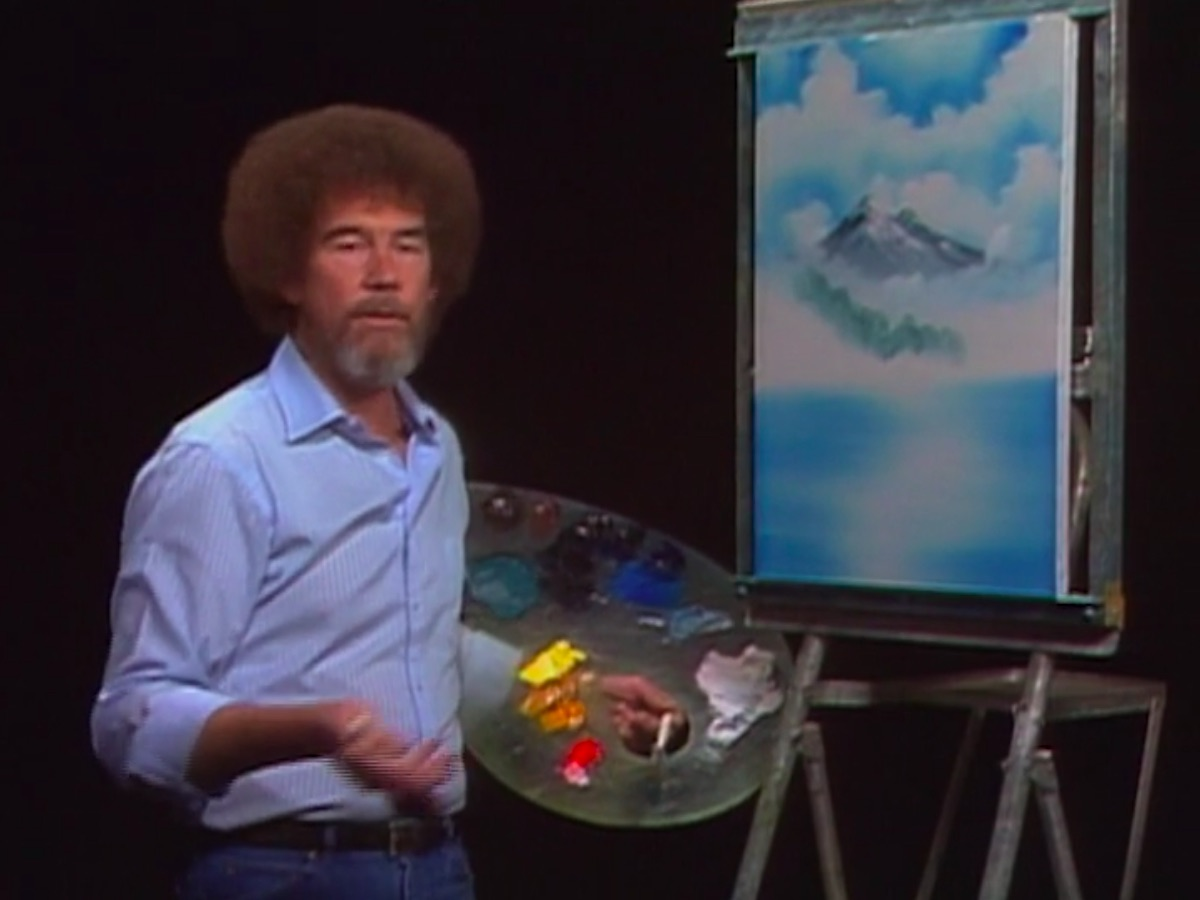 Bob Ross in Bob Ross: The Joy of Painting