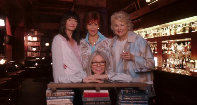 Mary Steenburgen, Jane Fonda, Candice Bergen, and Diane Keaton in Book Club