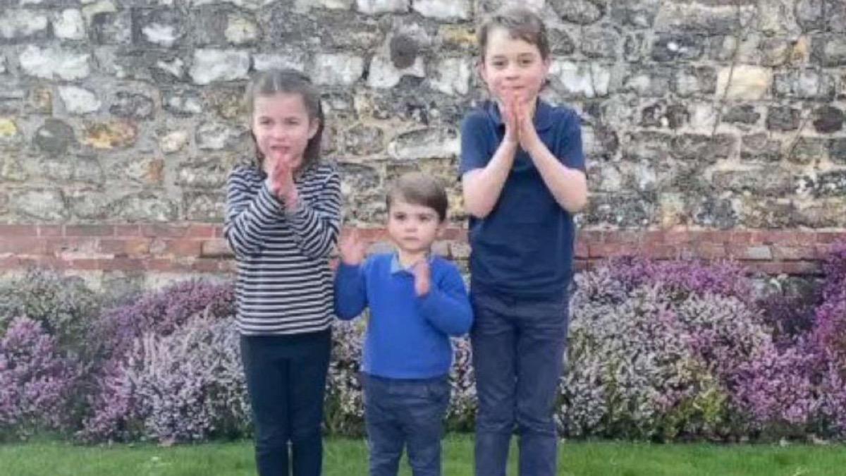 cambridge children clapping for healthcare workers amid coronavirus