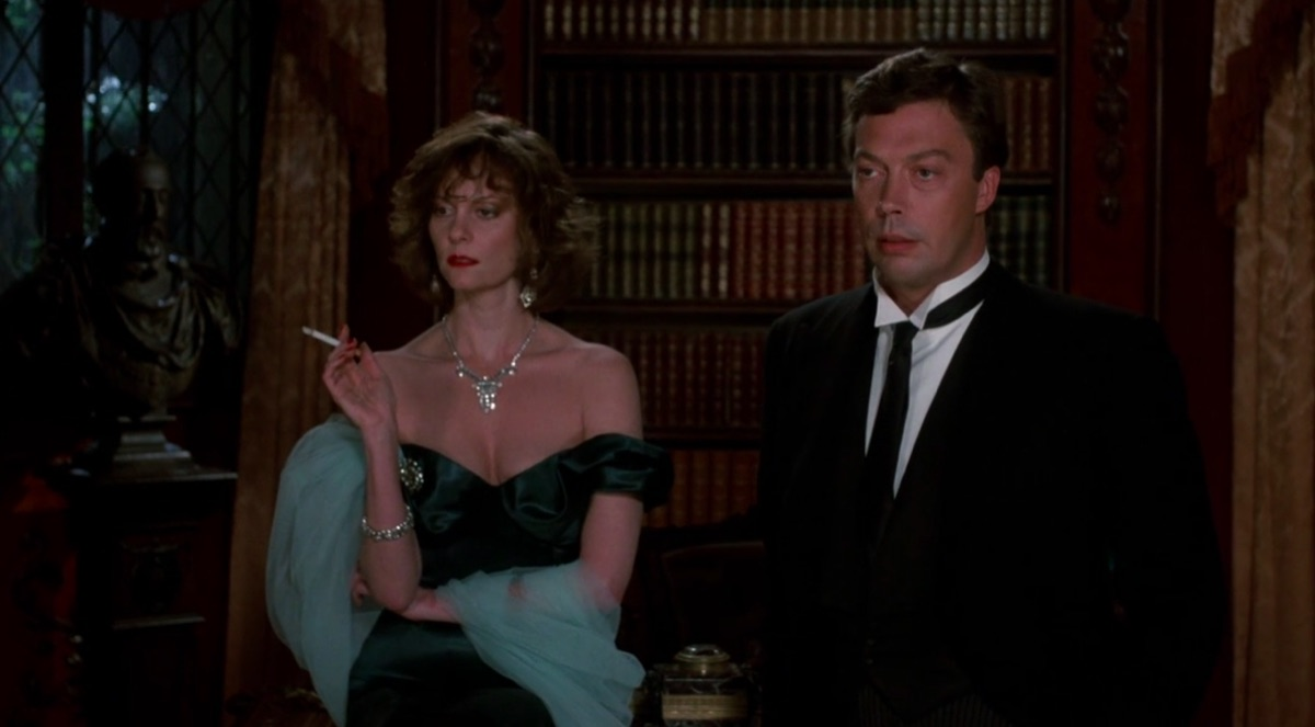 Lesley Ann Warren and Tim Curry in Clue