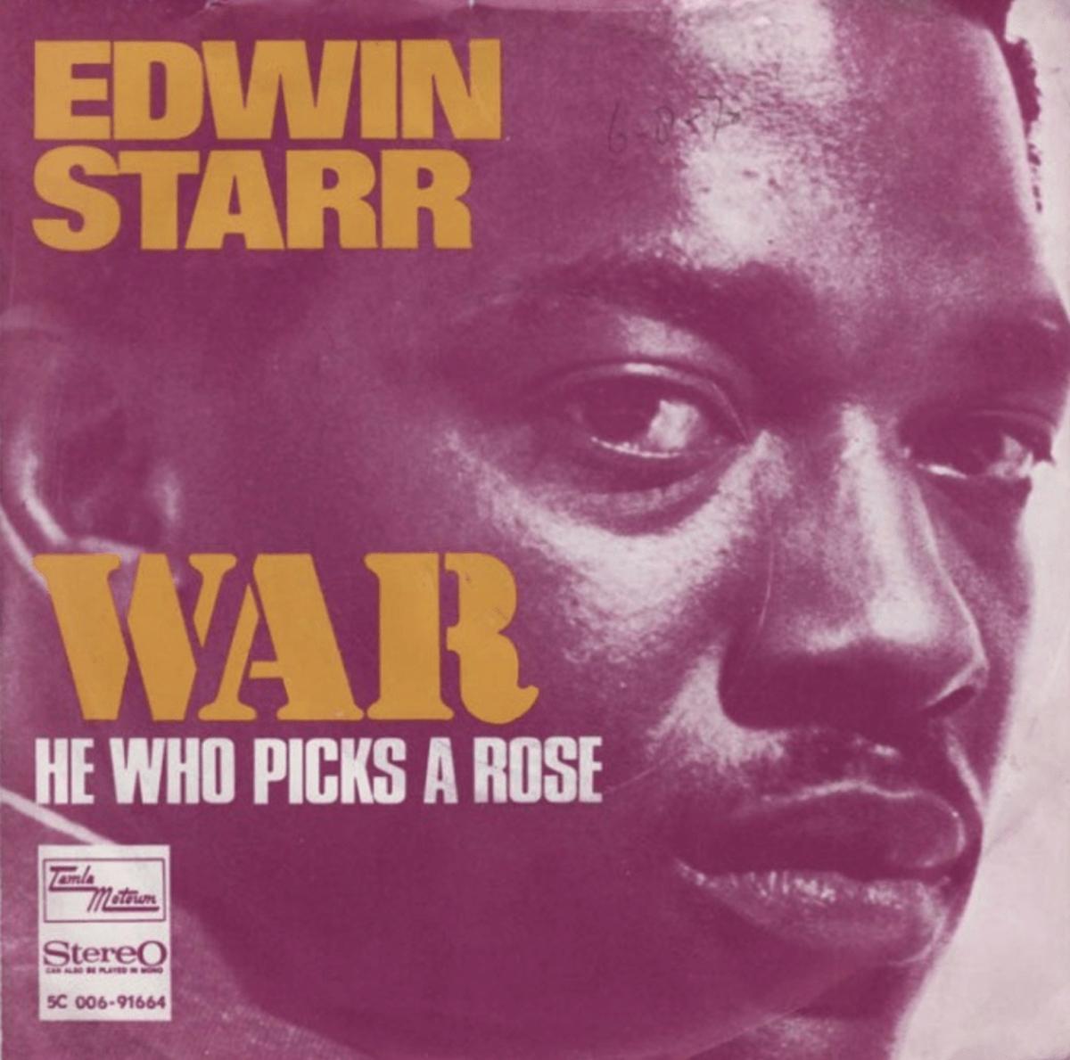 "edwin starr album cover for ""war"""