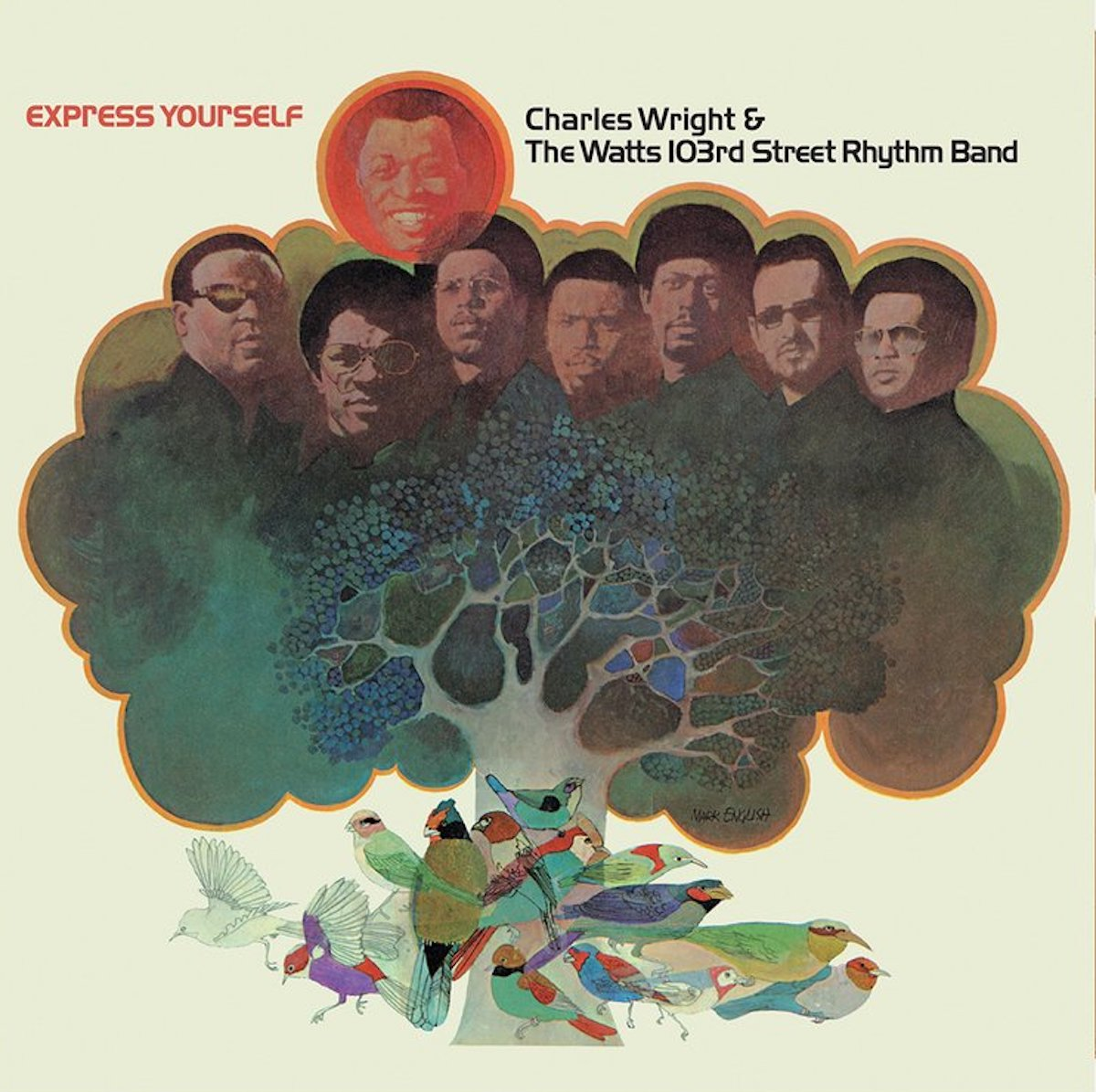 express yourself album cover by charles wright