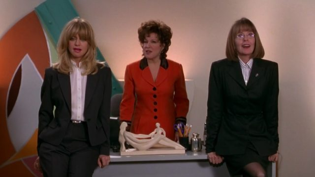 Goldie Hawn, Bette Midler, and Diane Keaton in The First Wives Club