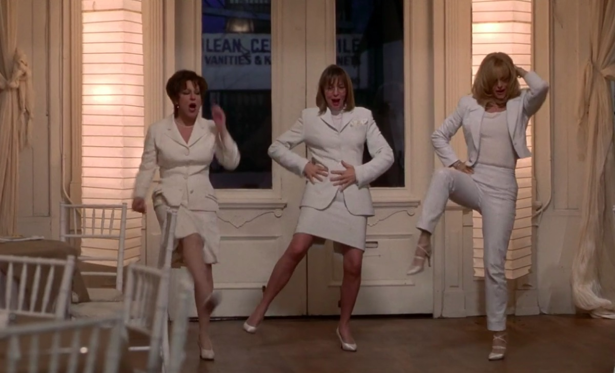 Bette Midler, Diane Keaton, and Goldie Hawn in The First Wives Club
