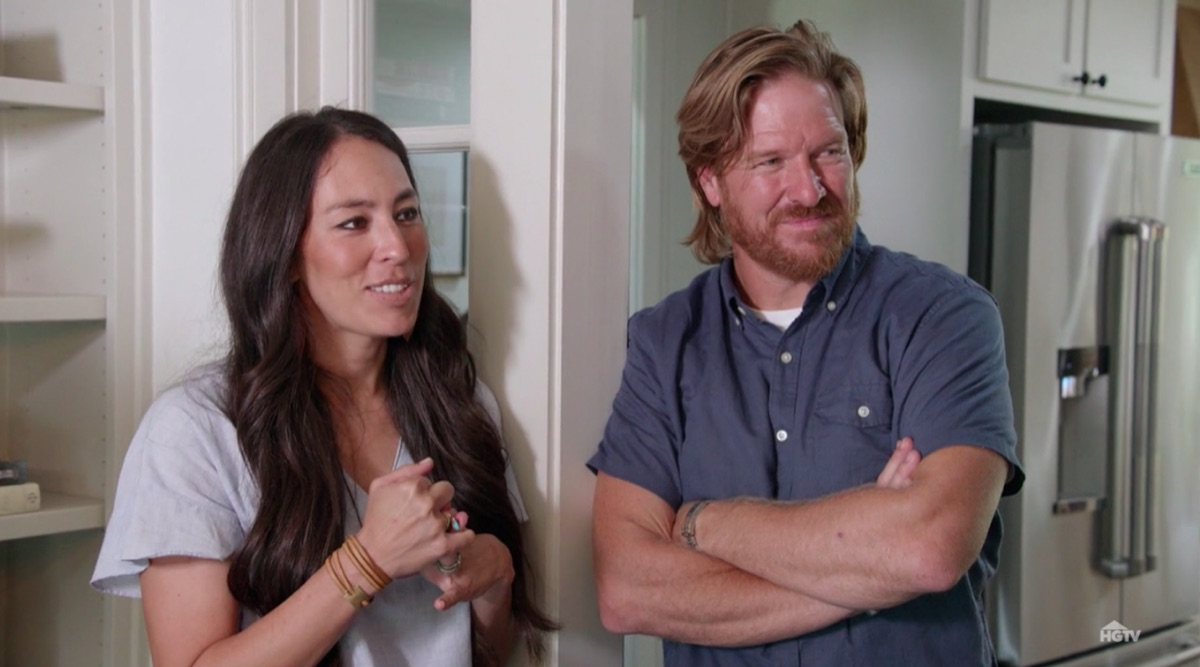 Joanna and Chip Gaines in Fixer Upper