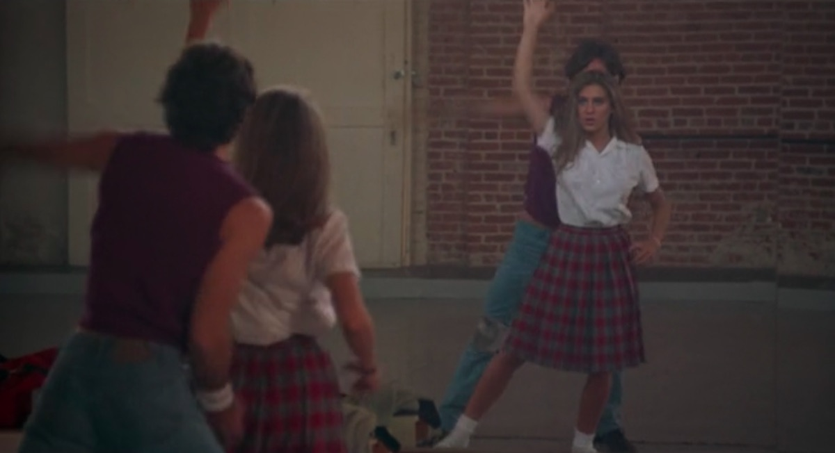 Lee Montgomery and Sarah Jessica Parker in Girls Just Want to Have Fun
