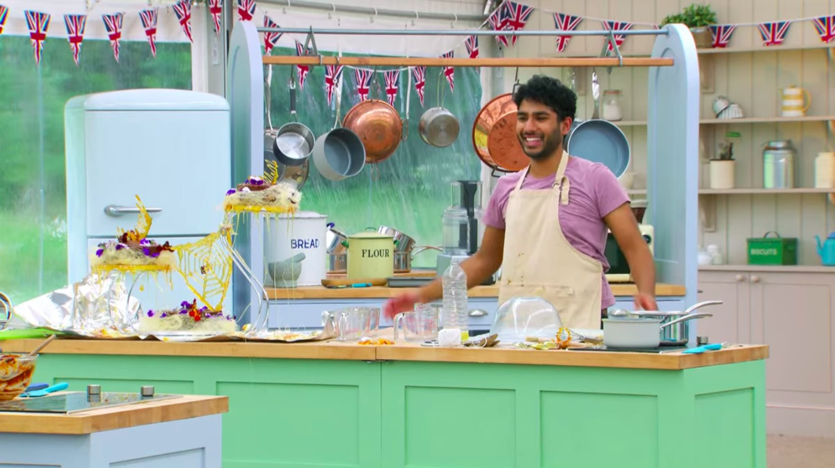 Tamal Ray in The Great British Baking Show