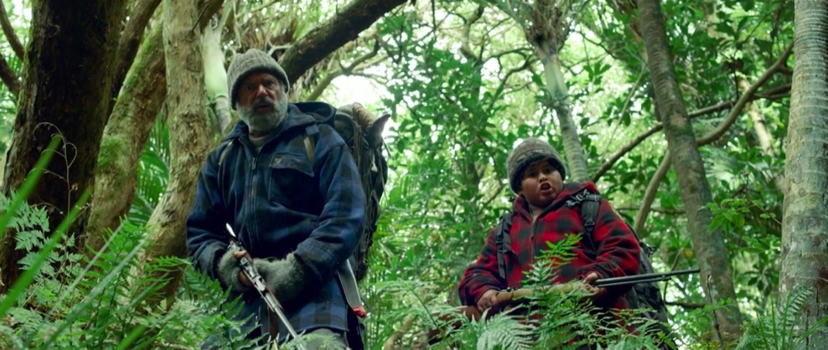 Sam Neill and Julian Dennison in Hunt for the Wilderpeople