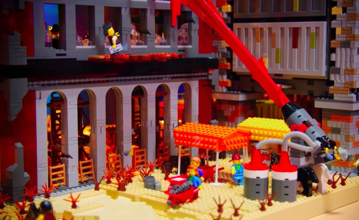 Still from Lego Masters