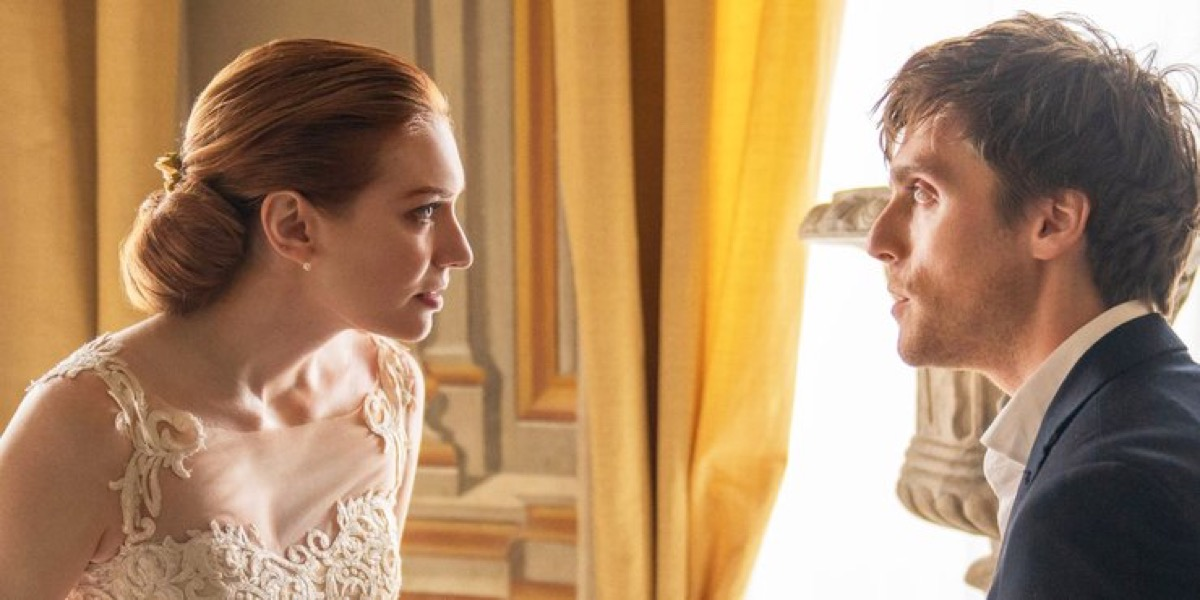Eleanor Tomlinson and Jack Farthing in Love Wedding Repeat