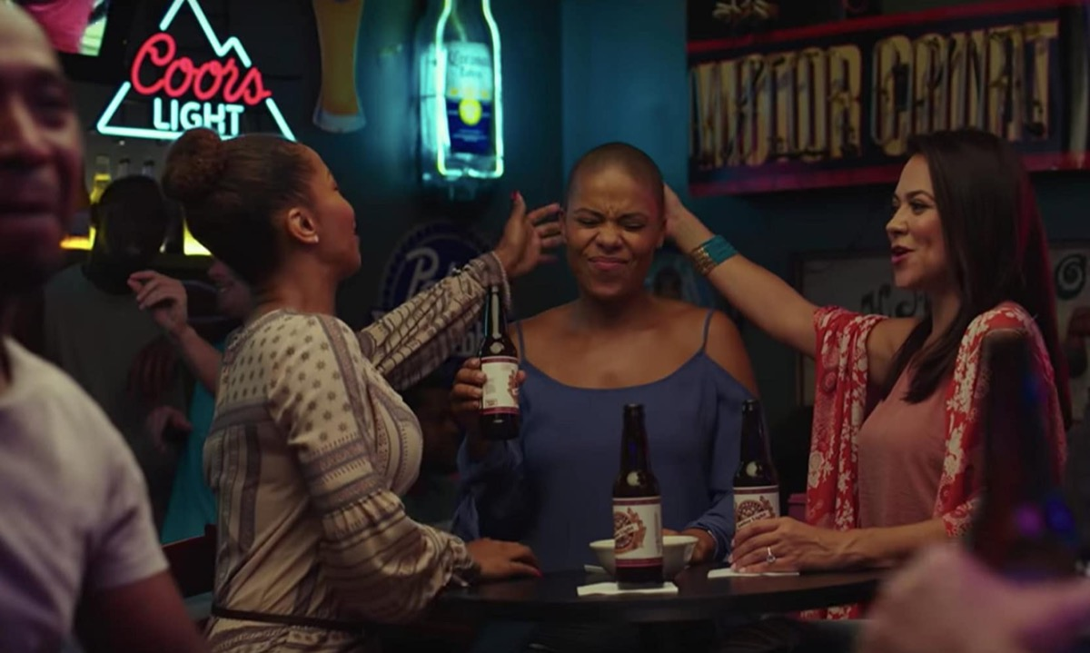 Brittany S. Hall, Sanaa Lathan, and Camille Guaty in Nappily Ever After