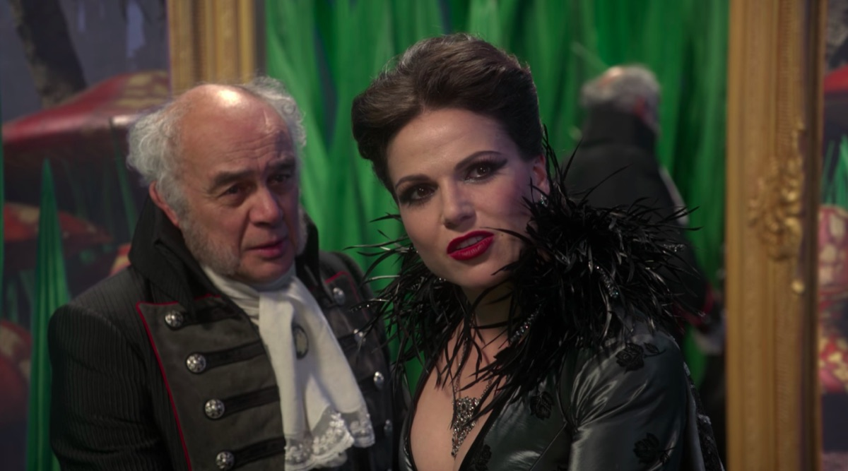 Tony Perez and Lana Parrilla in Once Upon a Time