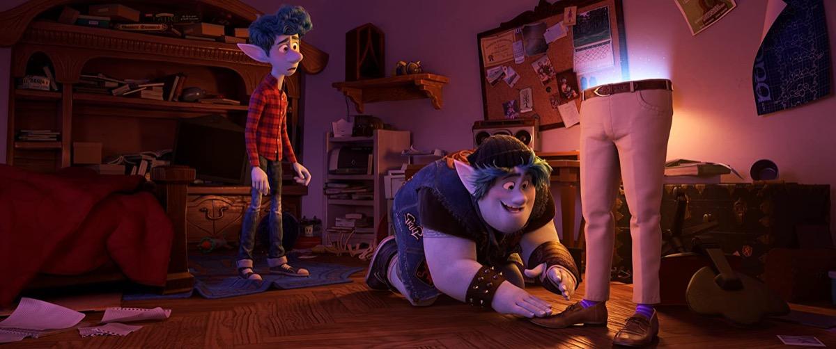 Still from Pixar's Onward