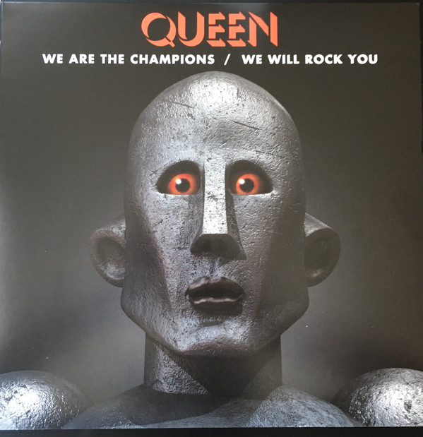 queen we will rock you single cover