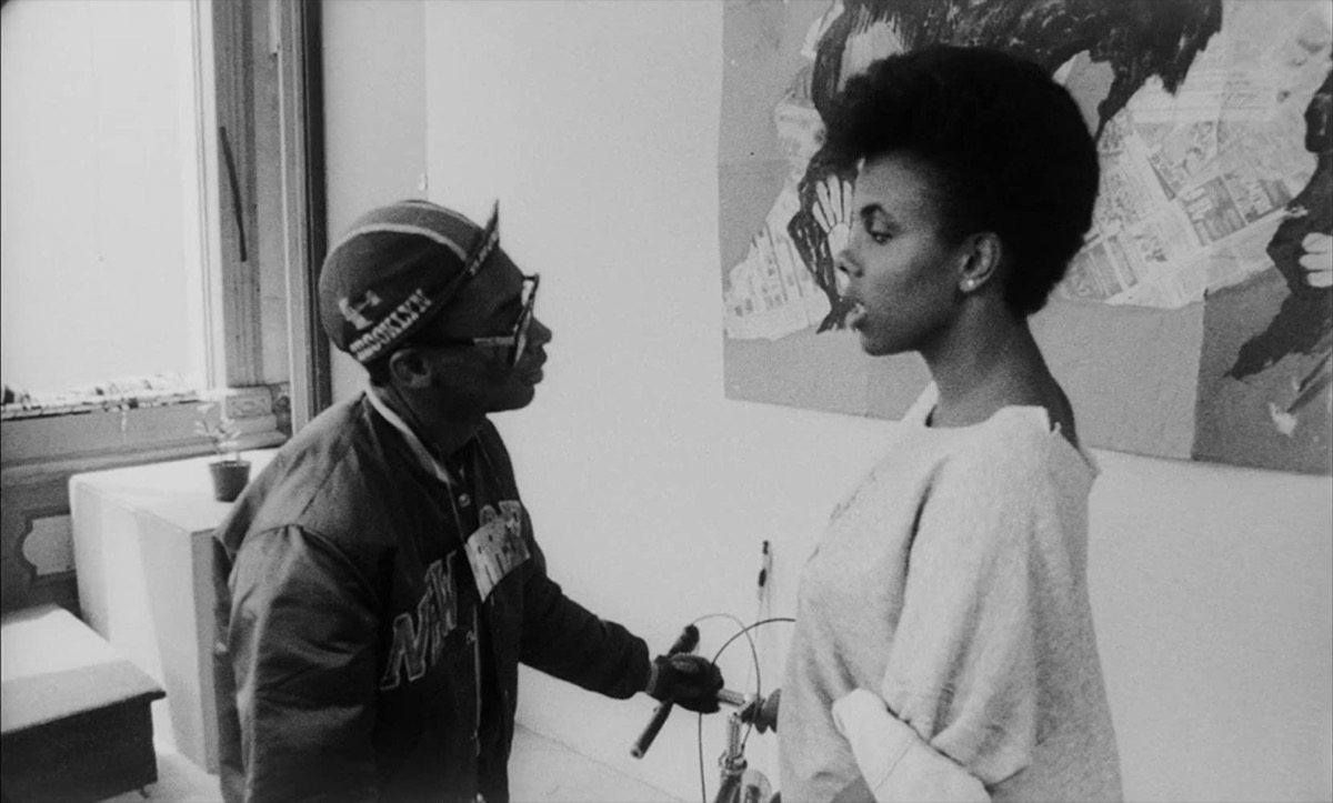 Spike Lee and Tracy Camilla Johns in She's Gotta Have It