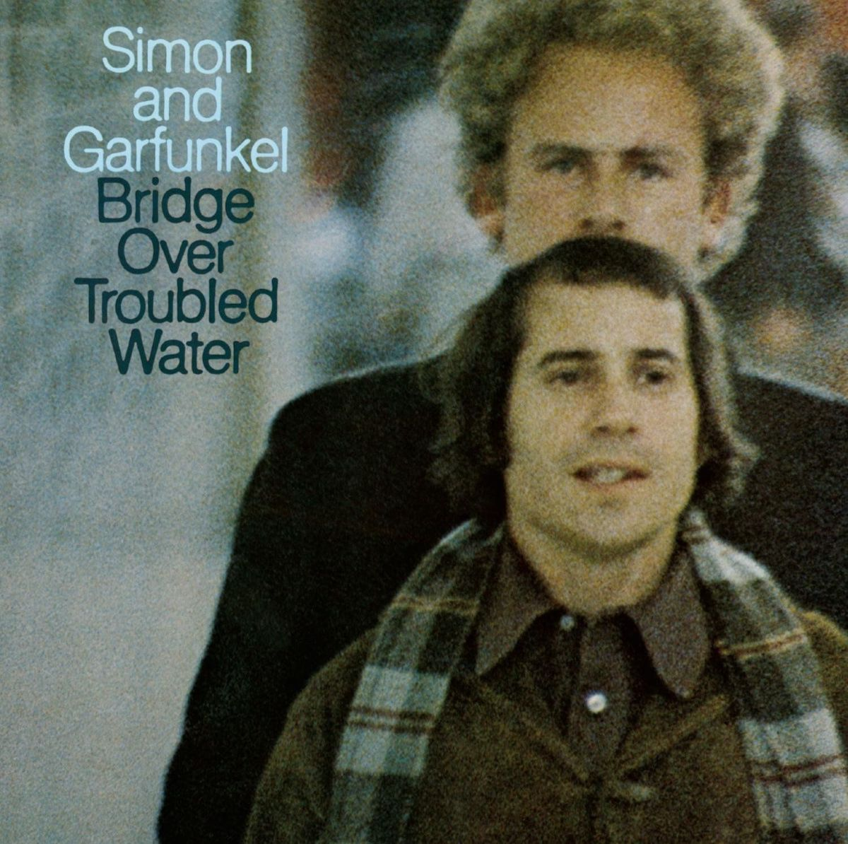 """album cover for simon and garfunkel's """"bridge over troubled water"""""""