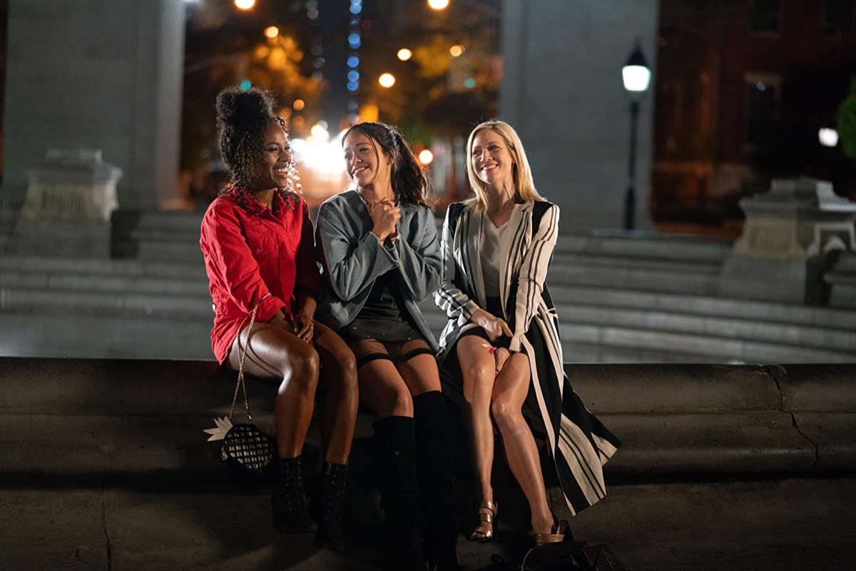 DeWanda Wise, Gina Rodriguez, and Brittany Snow in Someone Great