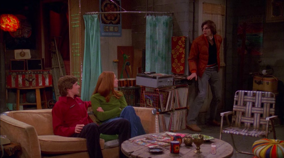 Topher Grace, Laura Prepon, and Ashton Kutcher in That '70s Show