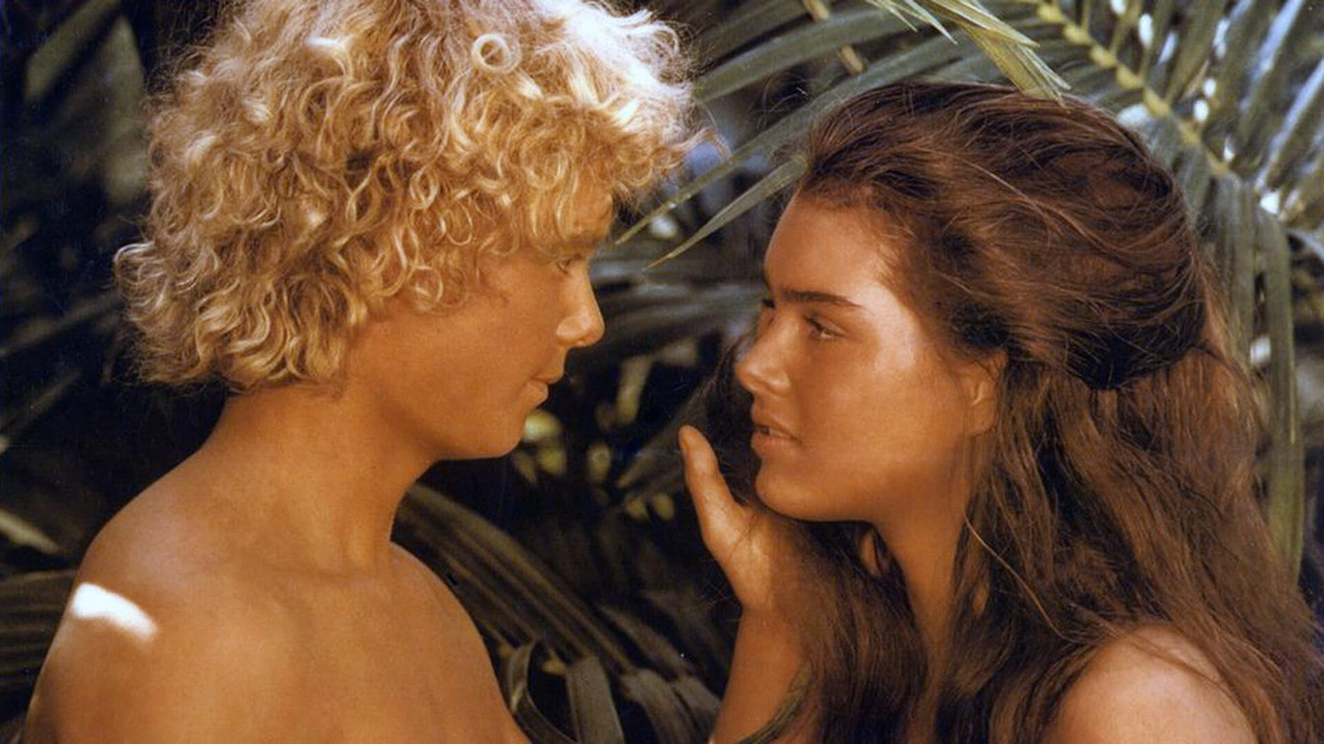 christopher atkins and brooke shields in the blue lagoon