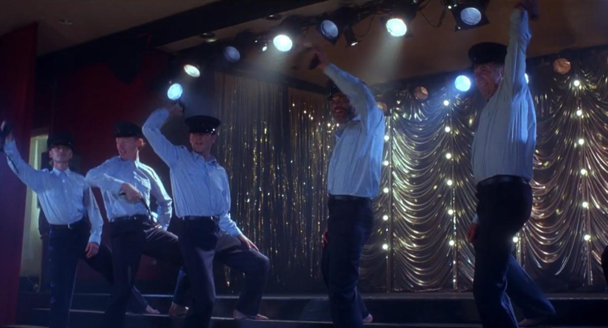 Ending scene of The Full Monty