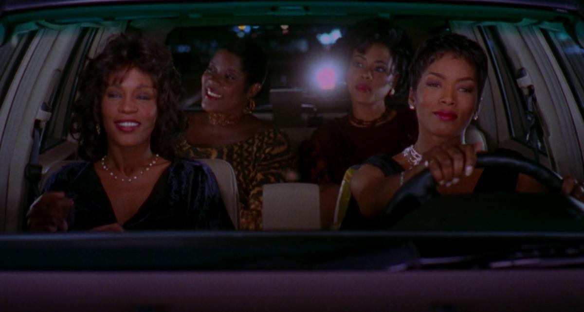 Whitney Houston, Loretta Devine, Lela Rochon, and Angela Bassett in Waiting to Exhale