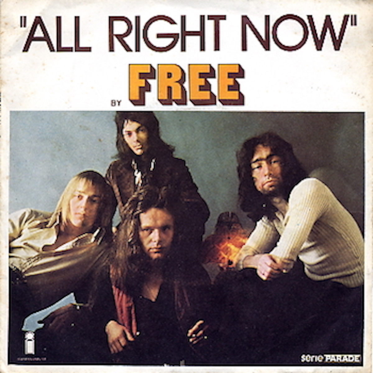 """album cover for """"all right now"""" by free"""