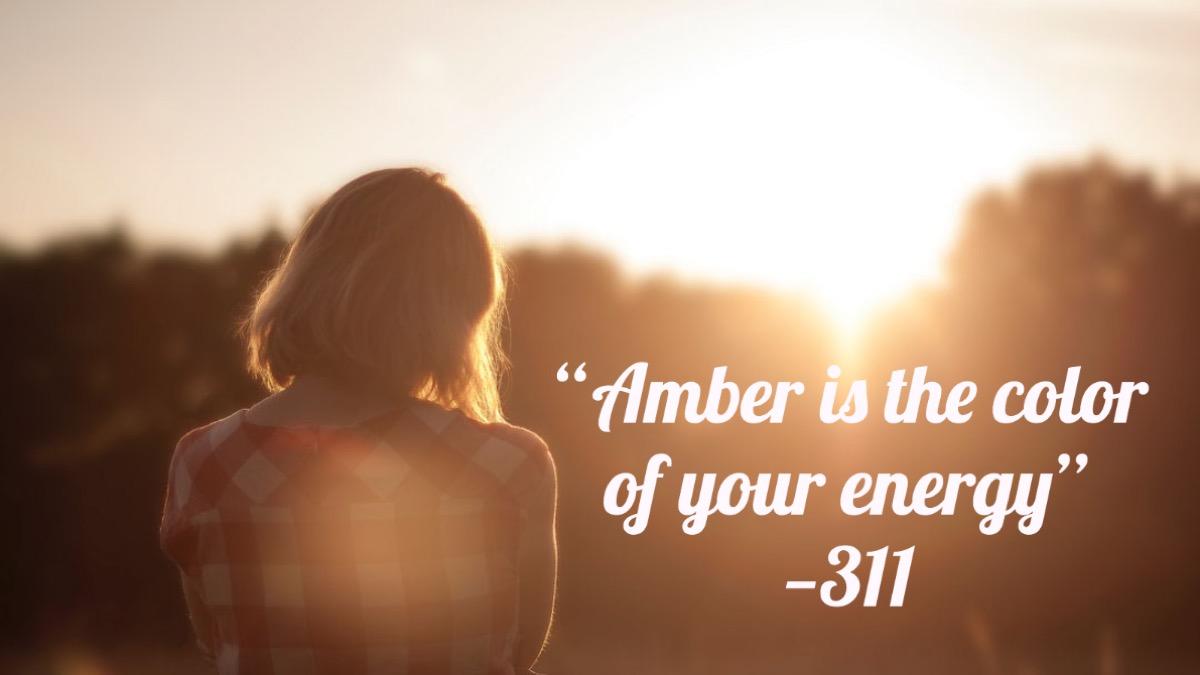 Amber lyrics 311